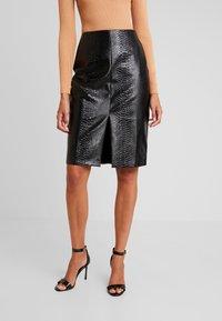 Glamorous - Pouzdrová sukně - black - 0
