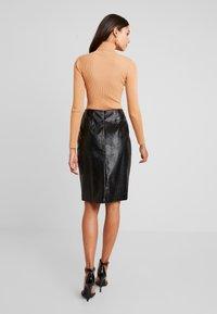 Glamorous - Pouzdrová sukně - black - 2