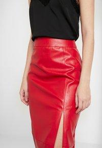 Glamorous - SKIRT - Jupe crayon - red - 5