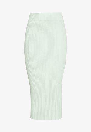GLAMOROUS CARE MIDI SKIRT - Pencil skirt - pistachio