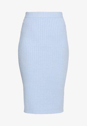 MIDI SKIRT - Pencil skirt - light blue