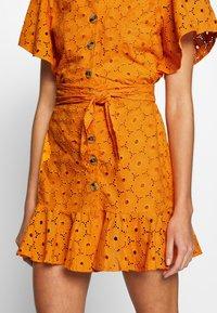Glamorous - ANGLAIS MINI SKIRT - A-line skirt - bright orange - 4