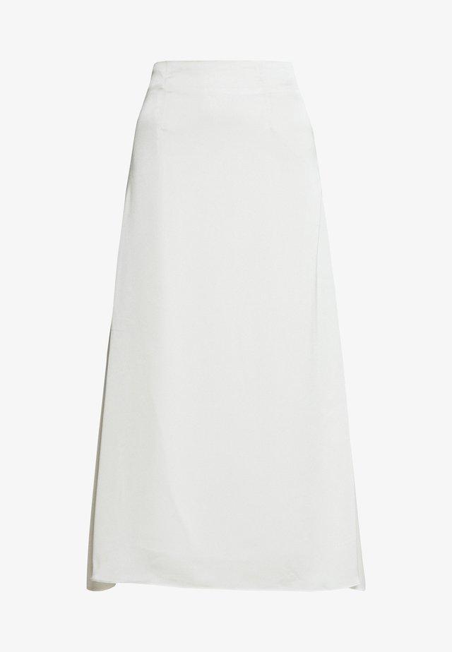 MIDI SKIRT - A-snit nederdel/ A-formede nederdele - cream