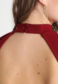 Glamorous - SHORT SLEEVE DRESS - Pouzdrové šaty - burgundy - 3