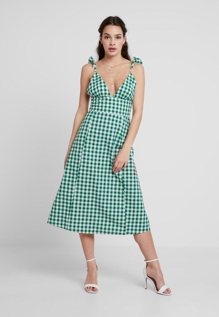 Glamorous - Denní šaty - green/white