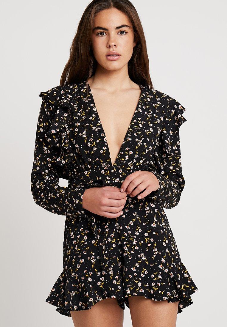 Glamorous - Jumpsuit - black/mustard