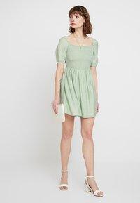 Glamorous - Korte jurk - sage green - 1