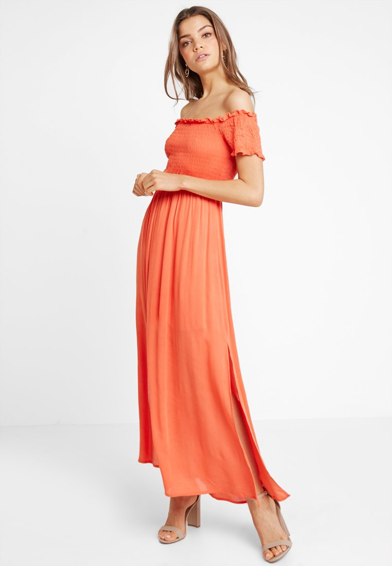 Glamorous - Robe longue - red orange
