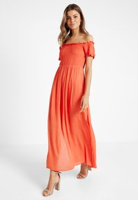 Glamorous - Robe longue - red orange - 2