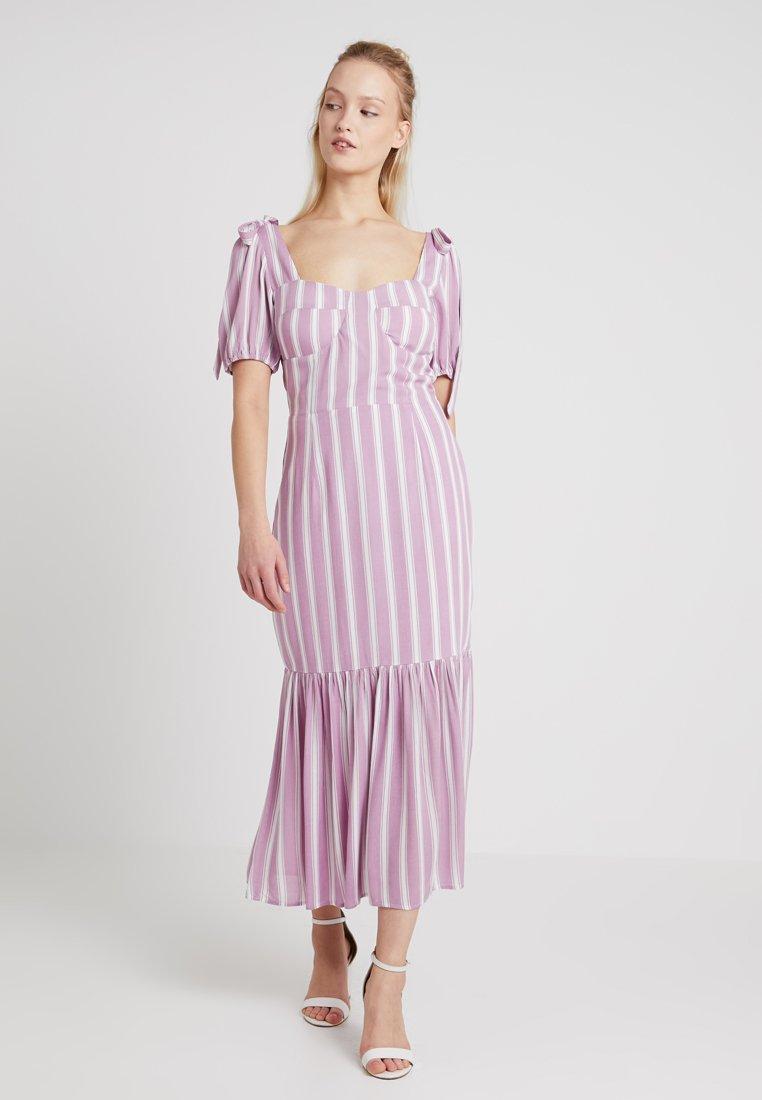 Glamorous - Vestido largo - pink/white