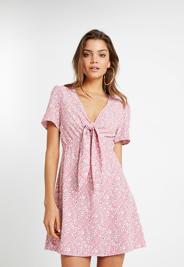 Glamorous - Freizeitkleid - pink whiteditsy