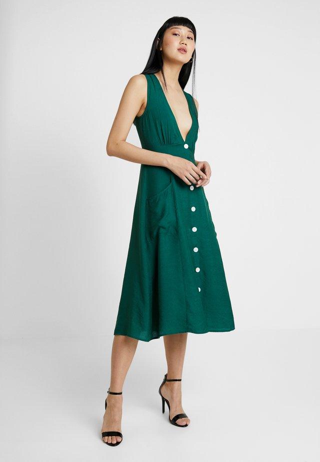 Denní šaty - forest green