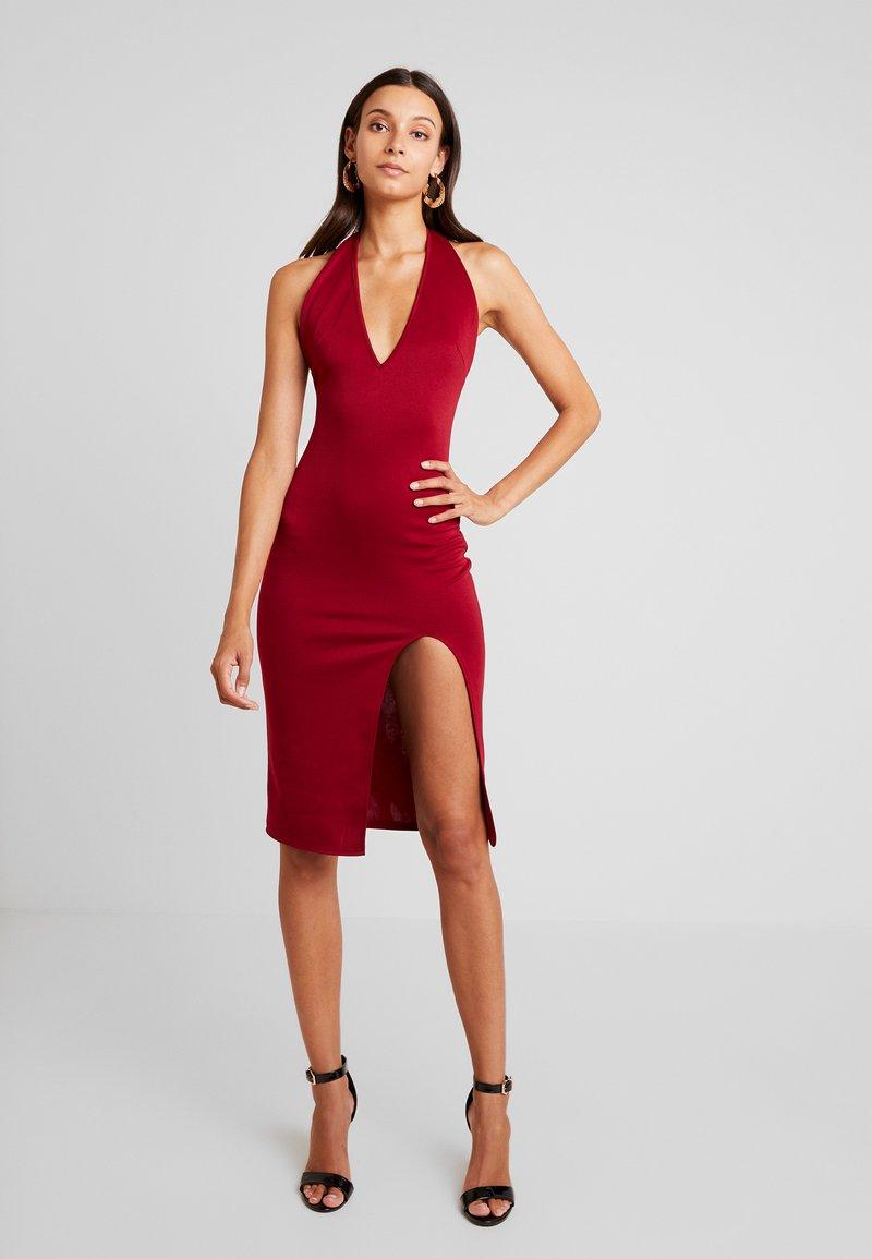 Glamorous - Vapaa-ajan mekko - burgundy