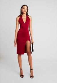 Glamorous - Vapaa-ajan mekko - burgundy - 2