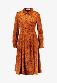 Glamorous - Denní šaty - cognac/black - 5