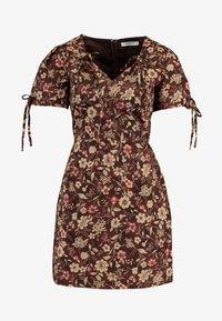 Glamorous - Denní šaty - brown - 4