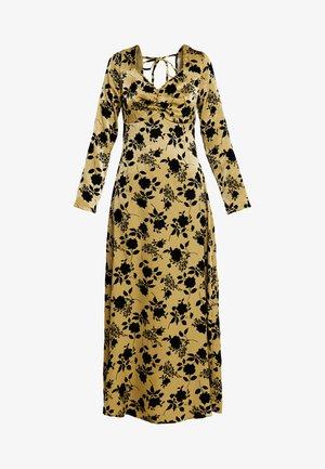 Korte jurk - olive