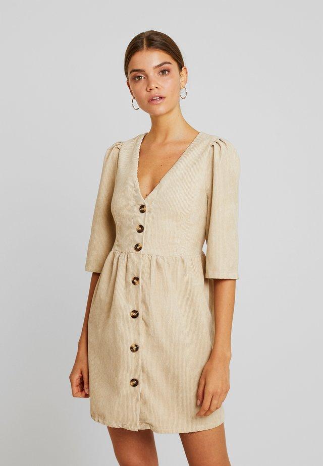 Robe chemise - stone