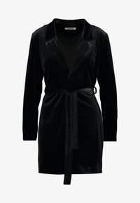 Glamorous - BLACK FRIDAY BLAZER DRESS - Vapaa-ajan mekko - black velvet - 4