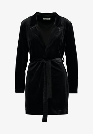 BLACK FRIDAY BLAZER DRESS - Denní šaty - black velvet