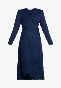 Glamorous - FRIDAY LONG SLEEVE WRAP DRESS - Sukienka letnia - navy - 4