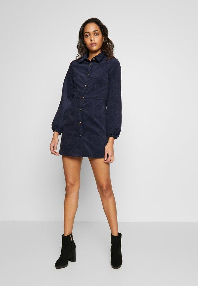SHIRT DRESS - Shirt dress - navy