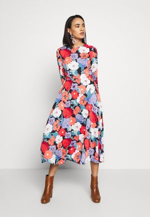 MIDI DRESS - Kjole - multi-coloured