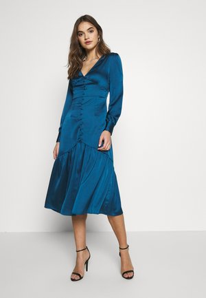MIDI DRESS - Vestido informal - petrol