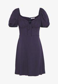 Glamorous - BUST DETAIL MINI DRESS - Day dress - purple - 2