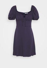 Glamorous - BUST DETAIL MINI DRESS - Day dress - purple - 0