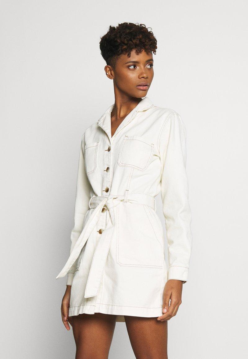 Glamorous - DRESS - Jeanskjole / cowboykjoler - ecru