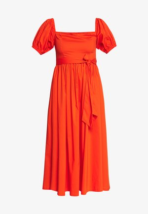 BARDOT MIDI DRESS - Robe d'été - red/orange