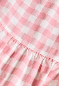 Glamorous - SHORT SLEEVE GINGHAM MAXI DRESS - Maksimekko - pink - 2