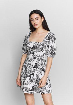 FLORAL MINI  - Day dress - mono