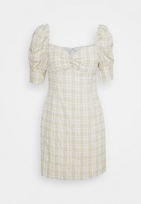 Glamorous - BUST DETAIL DRESS WITH PUFF SLEEVE - Kjole - sage - 0