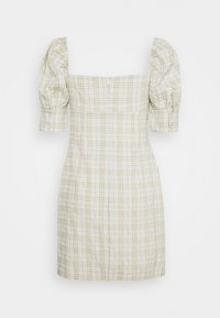 Glamorous - BUST DETAIL DRESS WITH PUFF SLEEVE - Kjole - sage - 1