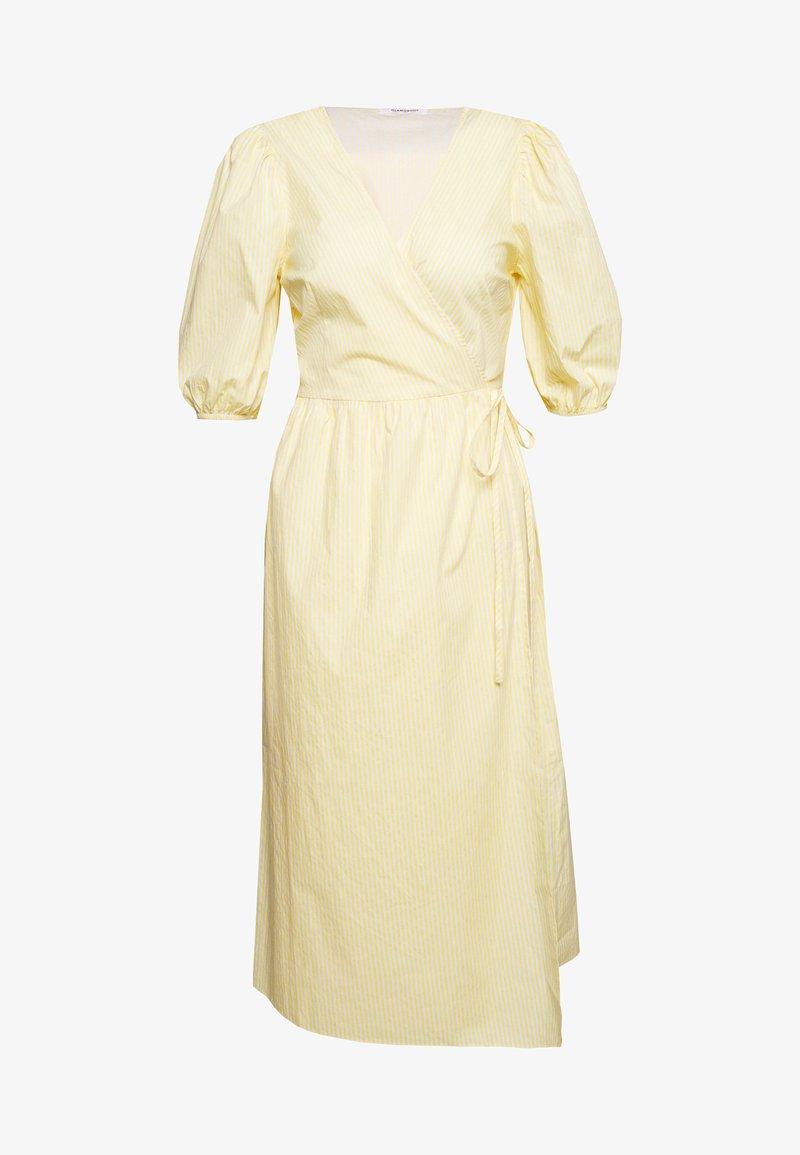 Glamorous - WRAP DRESS - Hverdagskjoler - yellow