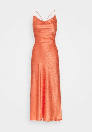 PALOMA MIDI DRESS - Sukienka koktajlowa - orange