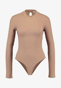 Glamorous - Long sleeved top - nude - 4