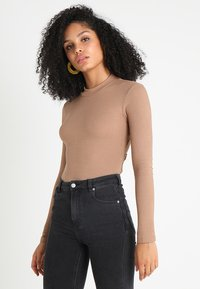 Glamorous - Long sleeved top - nude - 2