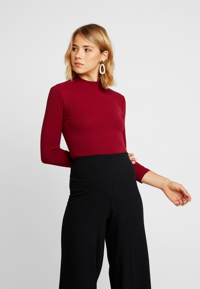 Glamorous - Topper langermet - burgundy
