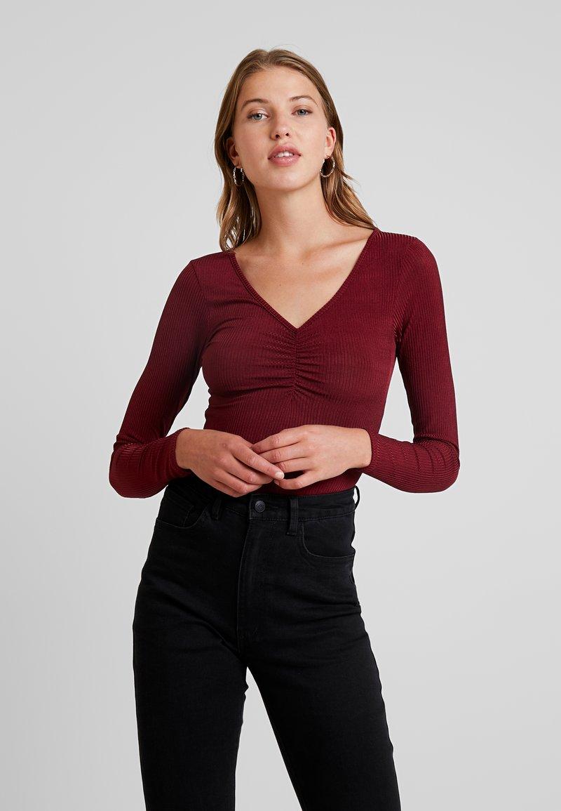 Glamorous - Langarmshirt - burgundy