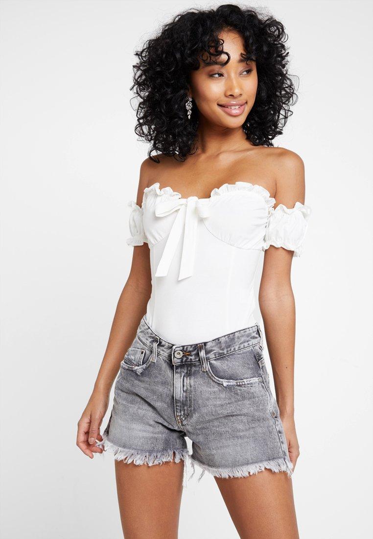 Glamorous - Print T-shirt - white