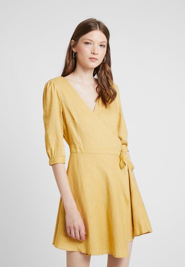 Bluse - mustard