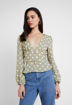 Blouse - sage green