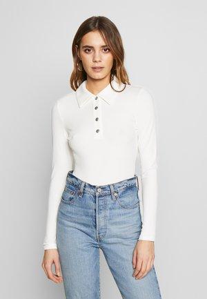 Poloshirt - cream