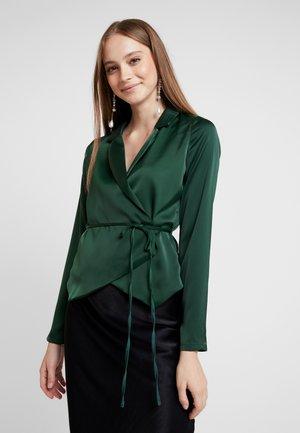 Blouse - dark green