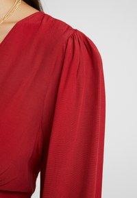 Glamorous - BUTTON FRONT - Camicetta - burgundy - 5