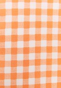 Glamorous - PALOMA GINGHAM MINI SKIRT - Miniskjørt - orange gingham - 2