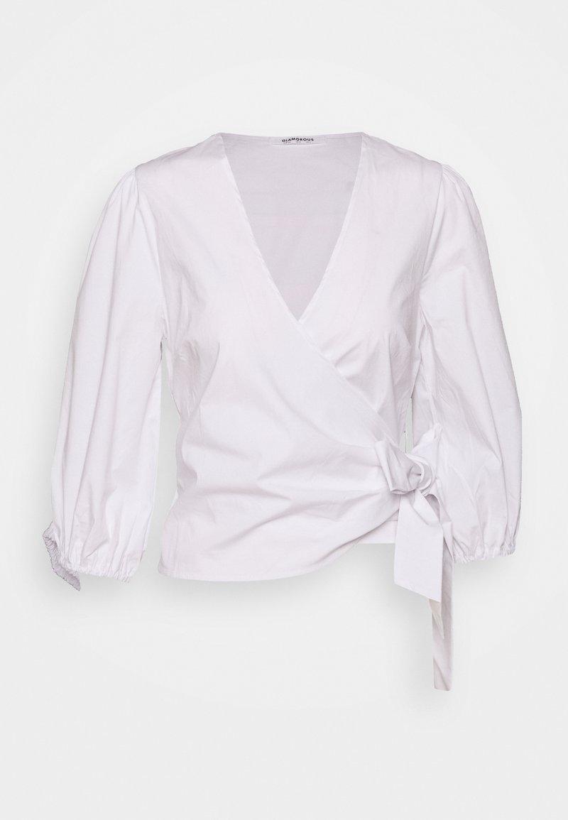 Glamorous - WRAP - Bluser - white